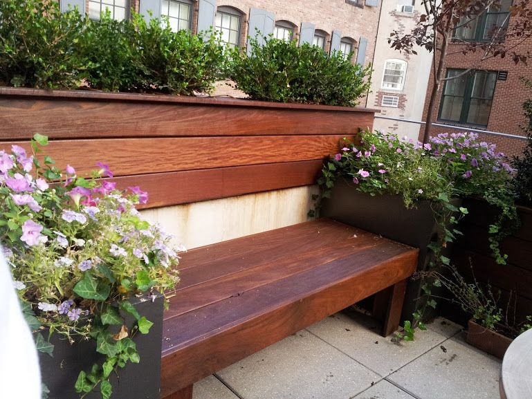 New York Garden Design co op and condo roof garden new york city ny ny by jeffrey erb Custom Modern Garden Bench Built For New York Plantings Garden Designers In Nyc Custom Ipe
