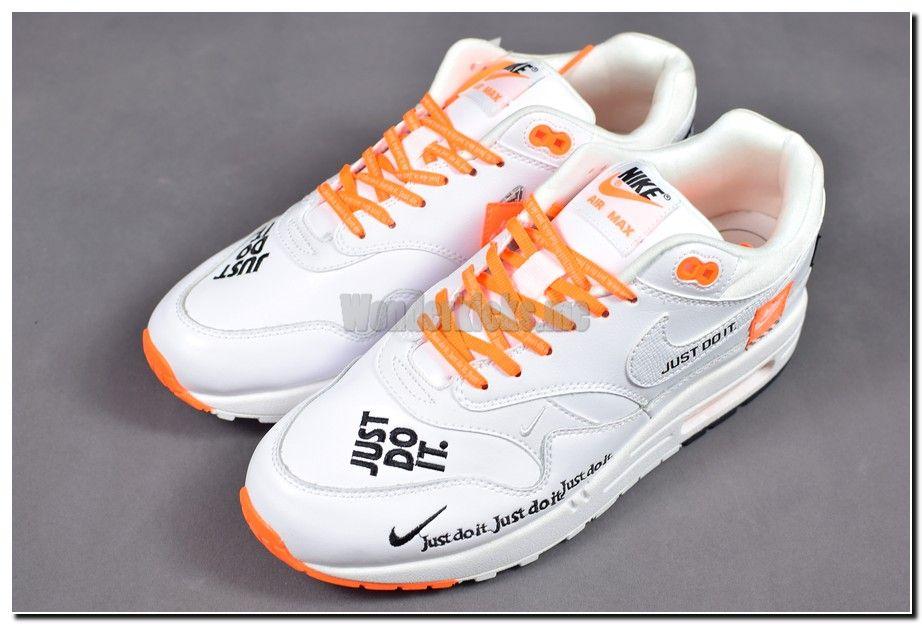 Pin By Kickshopus On Nike Air Max 1 Just Do It Pack White Orange