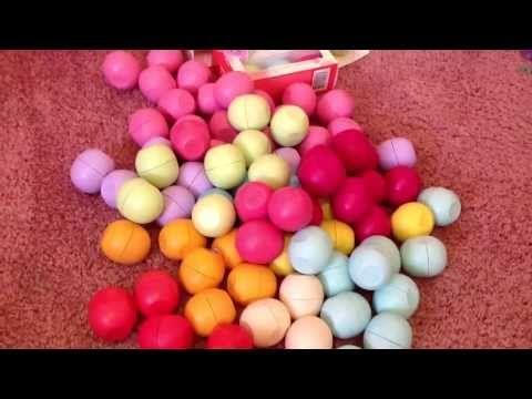 My EOS lip balm collection ..:) | E⃗o⃗s⃗ | Pinterest | Eos ...