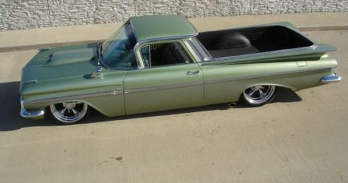59 Chevrolet El Camino Found On Pinterest The Guy Club Car Chevrolet Classic Cars Trucks Chevrolet