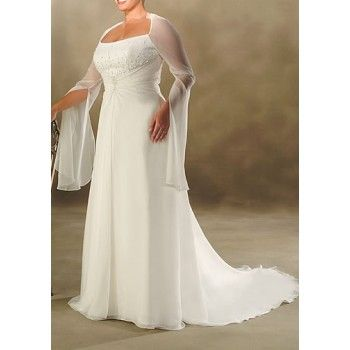 Pin By Jill Coleman On Wedding Inspirations And Ideas Plus Size Wedding Dresses With Sleeves Wedding Dresses Plus Size Informal Wedding Dresses
