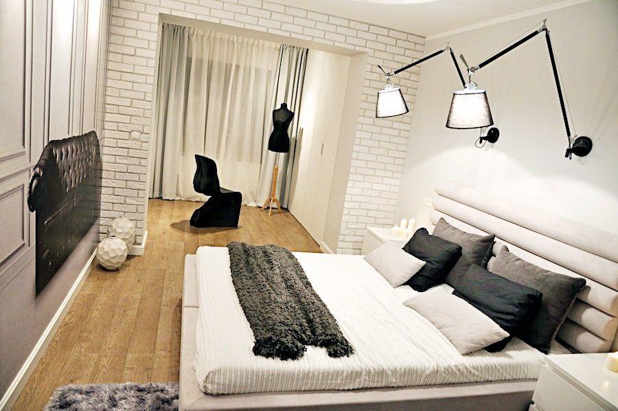 Czarno Biala Sypialnia W Stylu Glamour Home Decor Decor Furniture