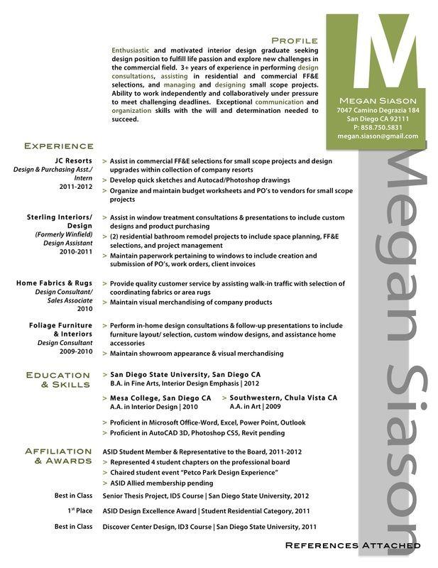 Resume Example | Portfolio Ideas | Pinterest | Resume examples ...