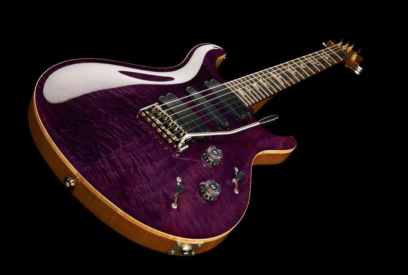 PRS 513 MT Armando's Amethyst, E-Guitar, Carved Maple Top