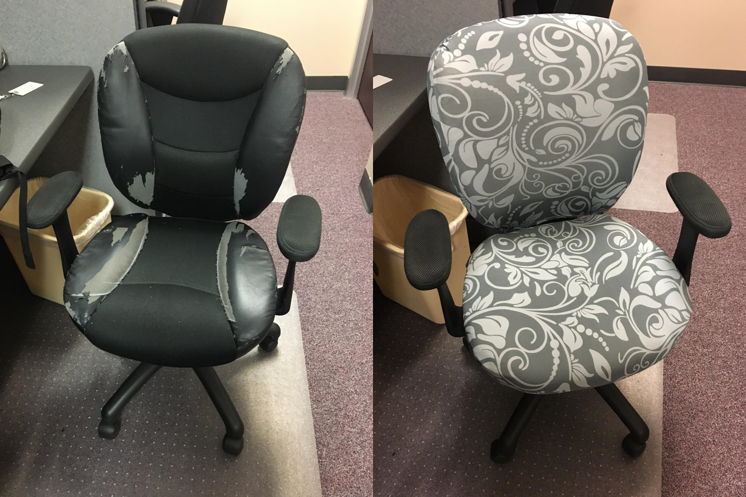 Computer Office Chair Cover - Protective & Stretchable Universal