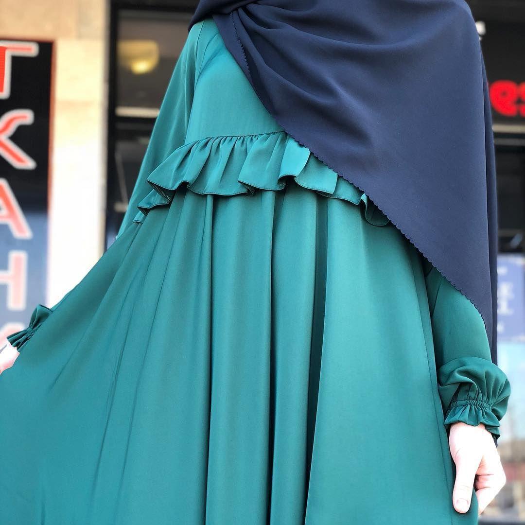 Цена Тканьабайный шелк Цвет в Реале темнозелёный abaya