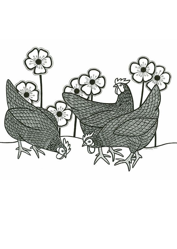 Pin on Inspiration: CHICKENS
