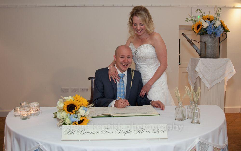 farbridge wedding signing register farbridge wedding photography