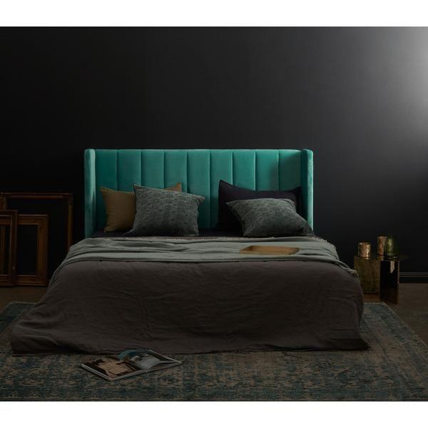 BEDHEAD | king-size ashford velvet by Incy Interiors