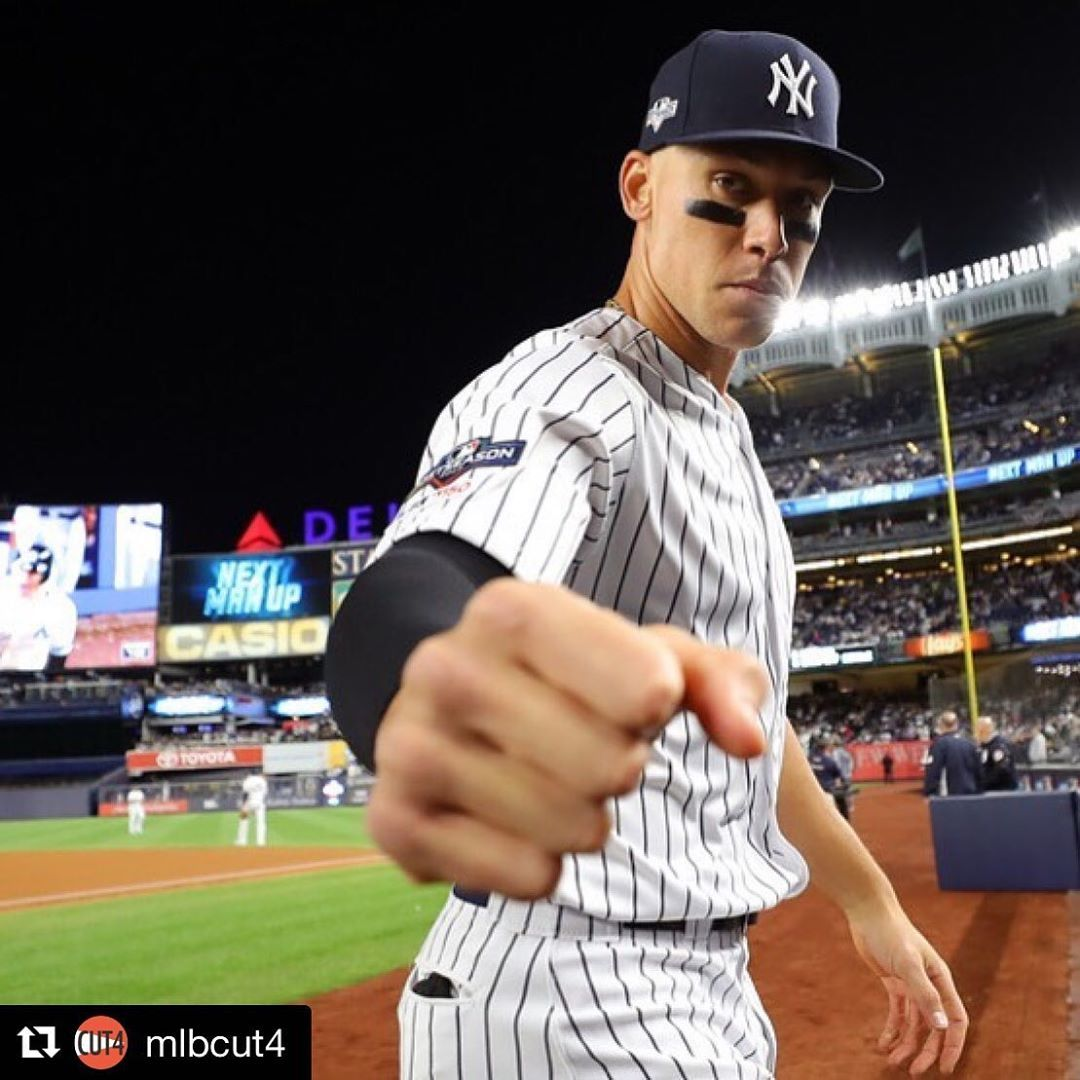 Swb Railriders On Instagram We Can T Not Repost This Double Tap To Fist Bump Thejudge44 Via Get Repost In 2020 Fist Bump Yankees Fan New York Yankees