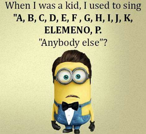 When I was a kid, I used to sing