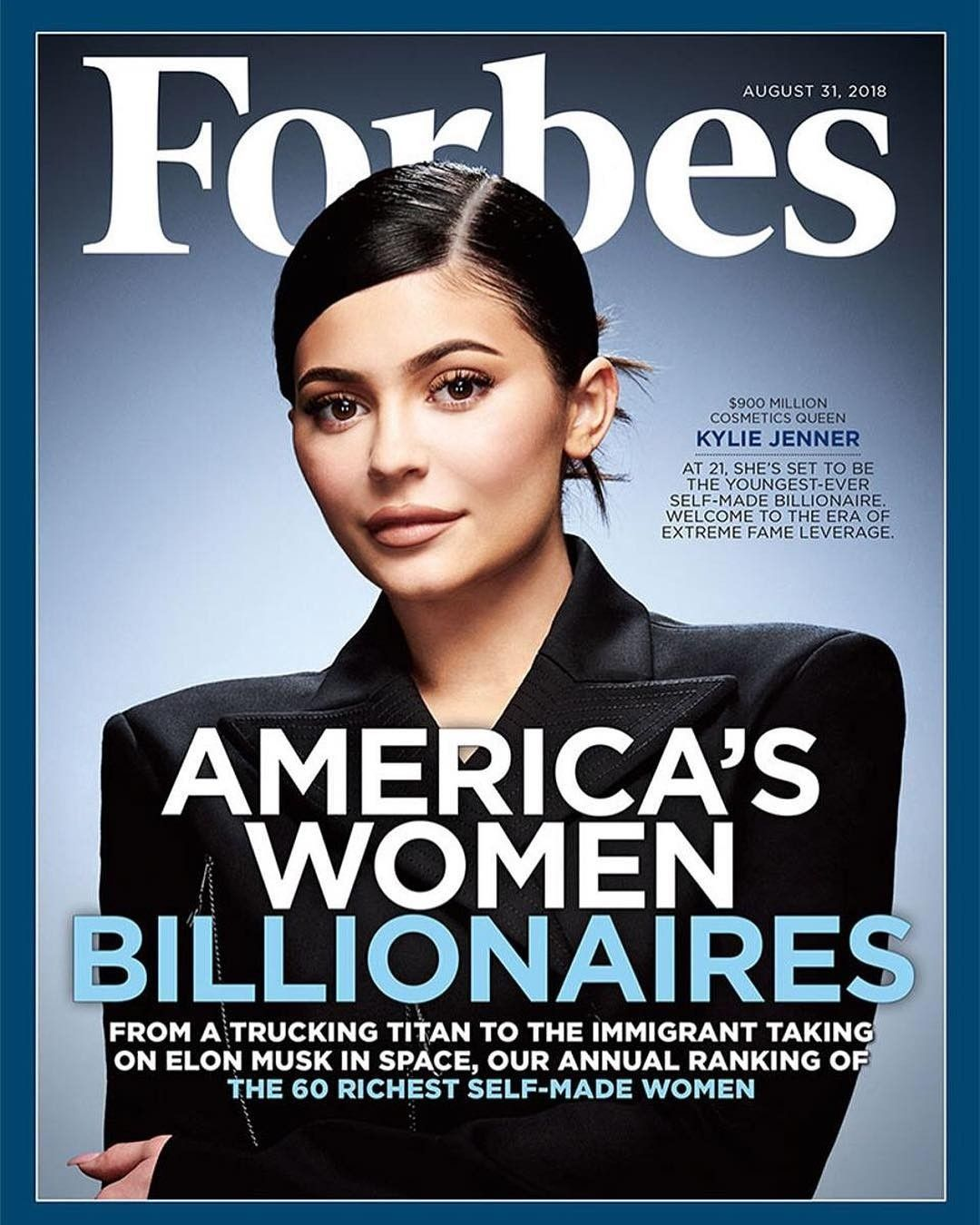 Pin By Social Hub On Chic Styles Forbes Cover Kylie Jenner Kylie