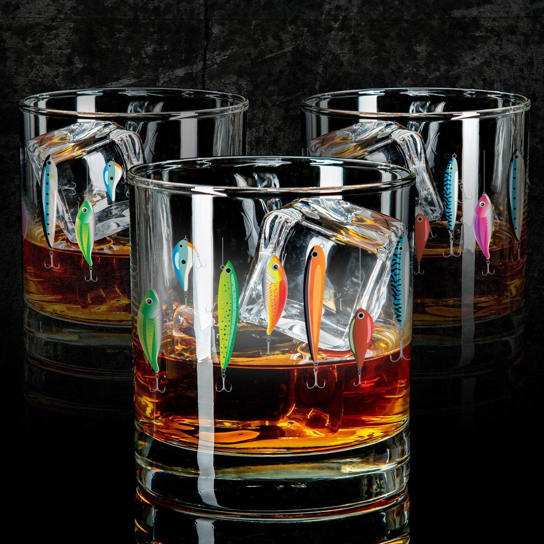 Whiskey Glass - Fishing Lure