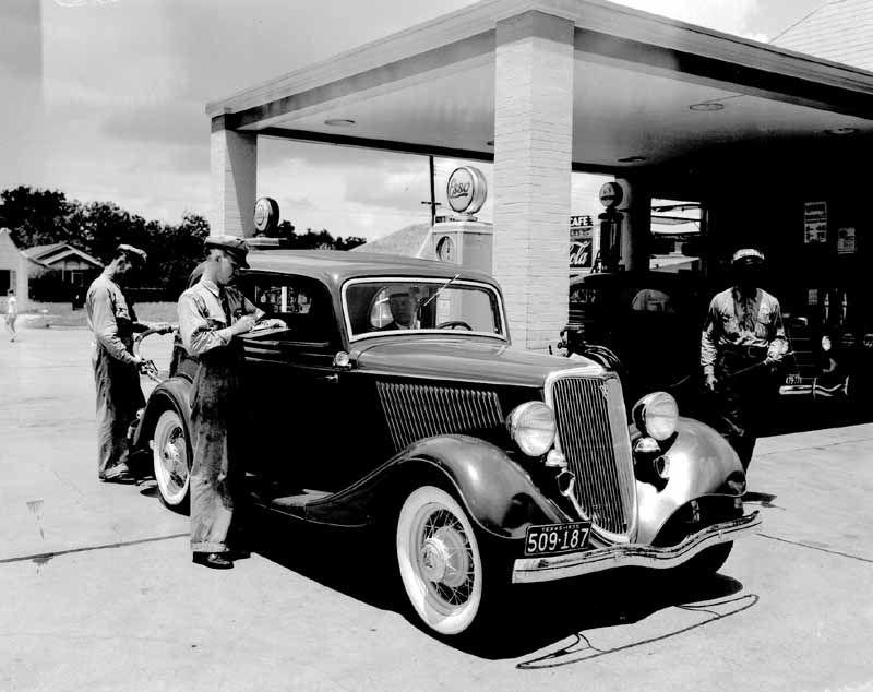 vintage service stations | Vintage Dealership Photos.... - Ford ...