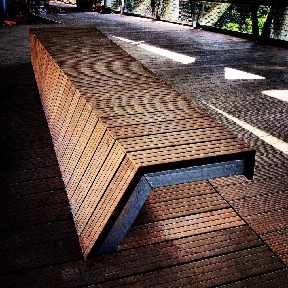 Waterfront Townhome Boasts Cool Urban Style: Gallery Of Tabiat Pedestrian Bridge / Diba Tensile