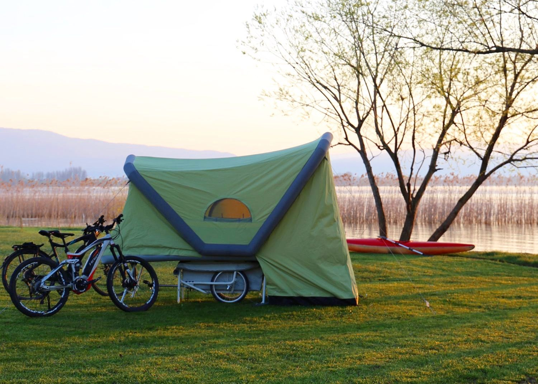 BTurtle // The MicroCaravan for Bicycles Bicycle
