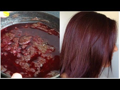 Natural Burgundy Hair 100 Herbal With Simple Ingredient How To Dye Hair Naturally Youtube In 2020 Natural Hair Styles Burgundy Hair Natural Hair Color