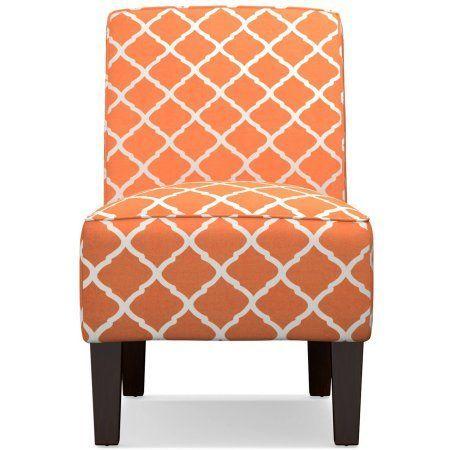 Best Dani Armless Accent Chair Multiple Colors Walmart Com 400 x 300