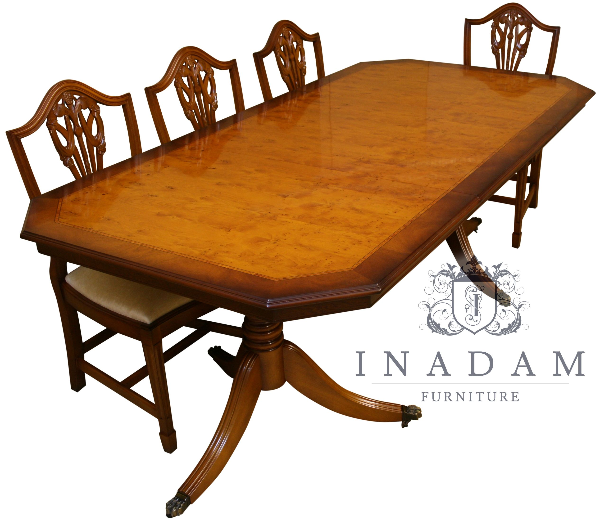 Room Beautiful Reproduction Dining Tables Handmade
