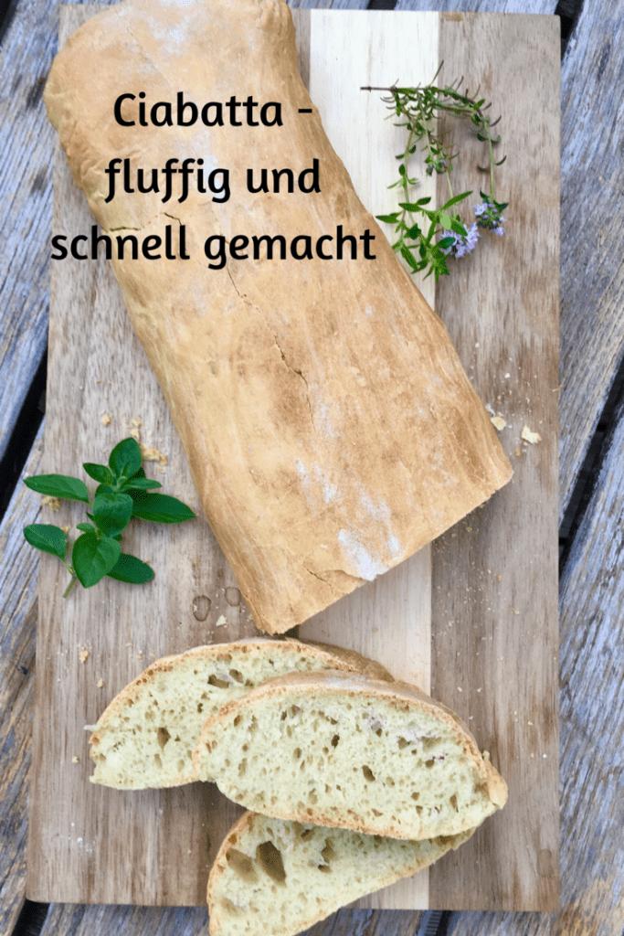 Ciabatta – leckeres Brot zum Grillen und zum Salat