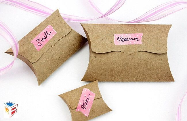 Which Products You Would Be Packed In Pillow Boxes?