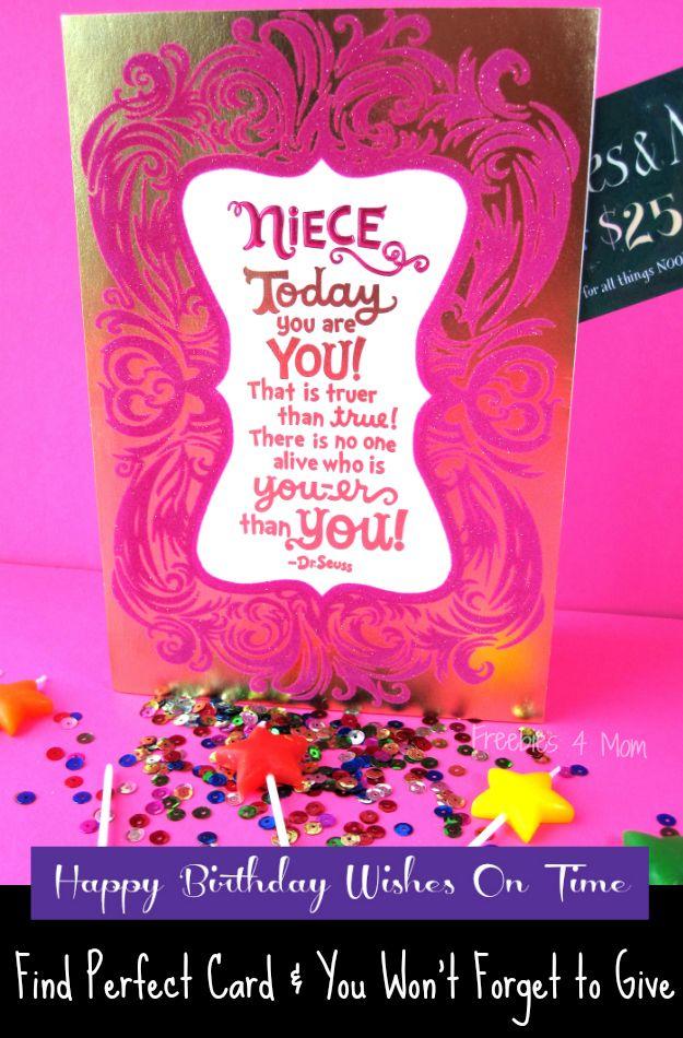 oft Happy Birthday Wishes On Time with Hallmark #BirthdaySmiles #cbias  UM38