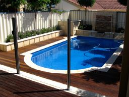 Glass Fence Cost Calculator Pool Fence Glass Pool Fencing Backyard Fences