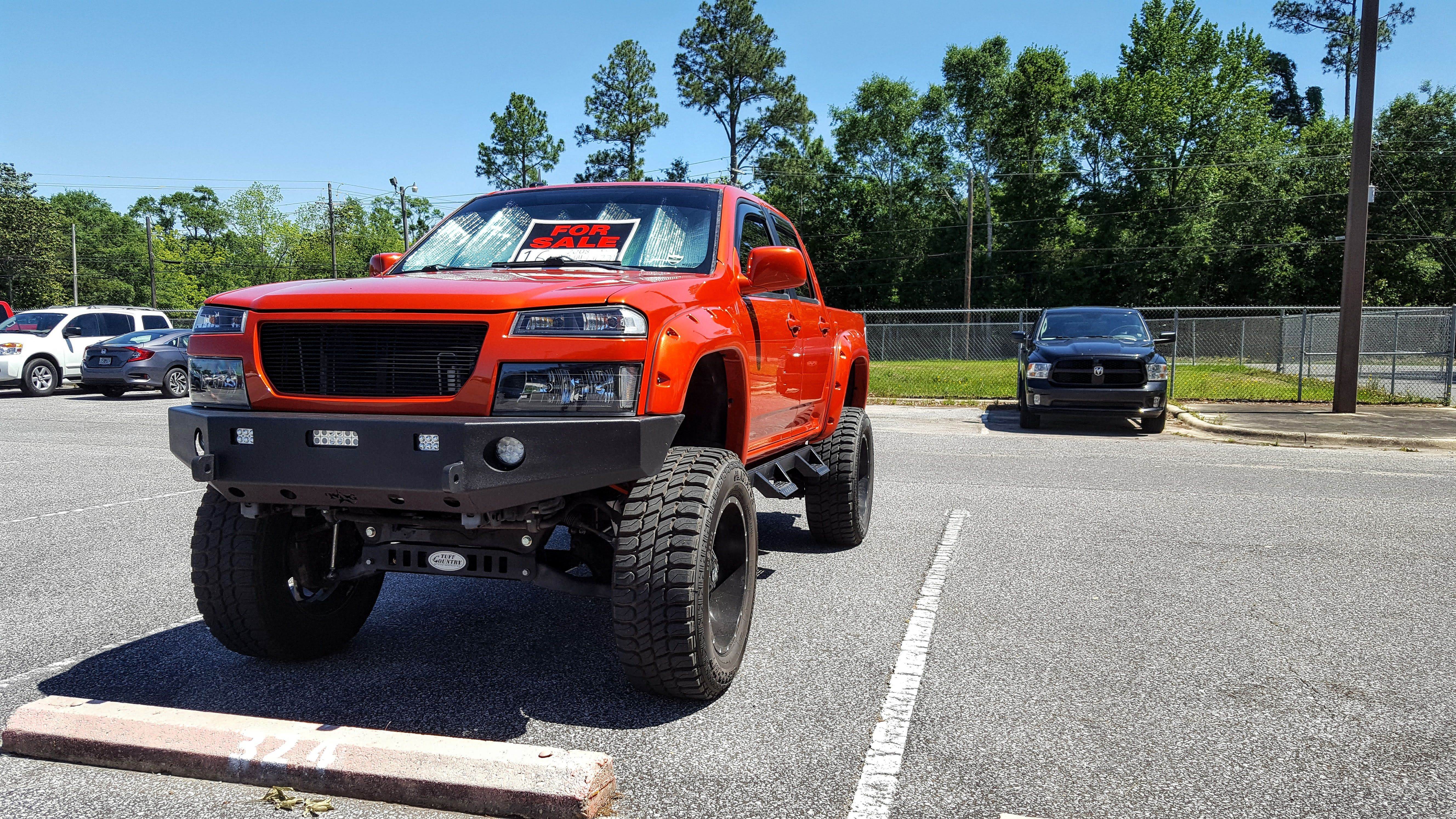 Lifted Chevy Colorado Gmc Canyon On 35s 10 5 Inches Of Lift