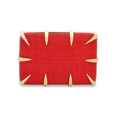 Canine T'nalak Clutch by Emi Jorge on GIFTLAB in Bags