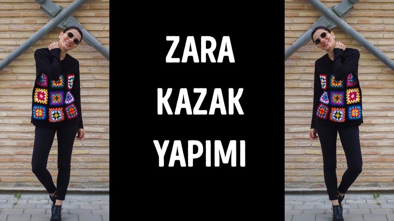 Zara Ilhamli Orgu Kazak Yapimi Knit Zara Inspired Pullover Tig Isi Ceket Orgu Kazak Orgu