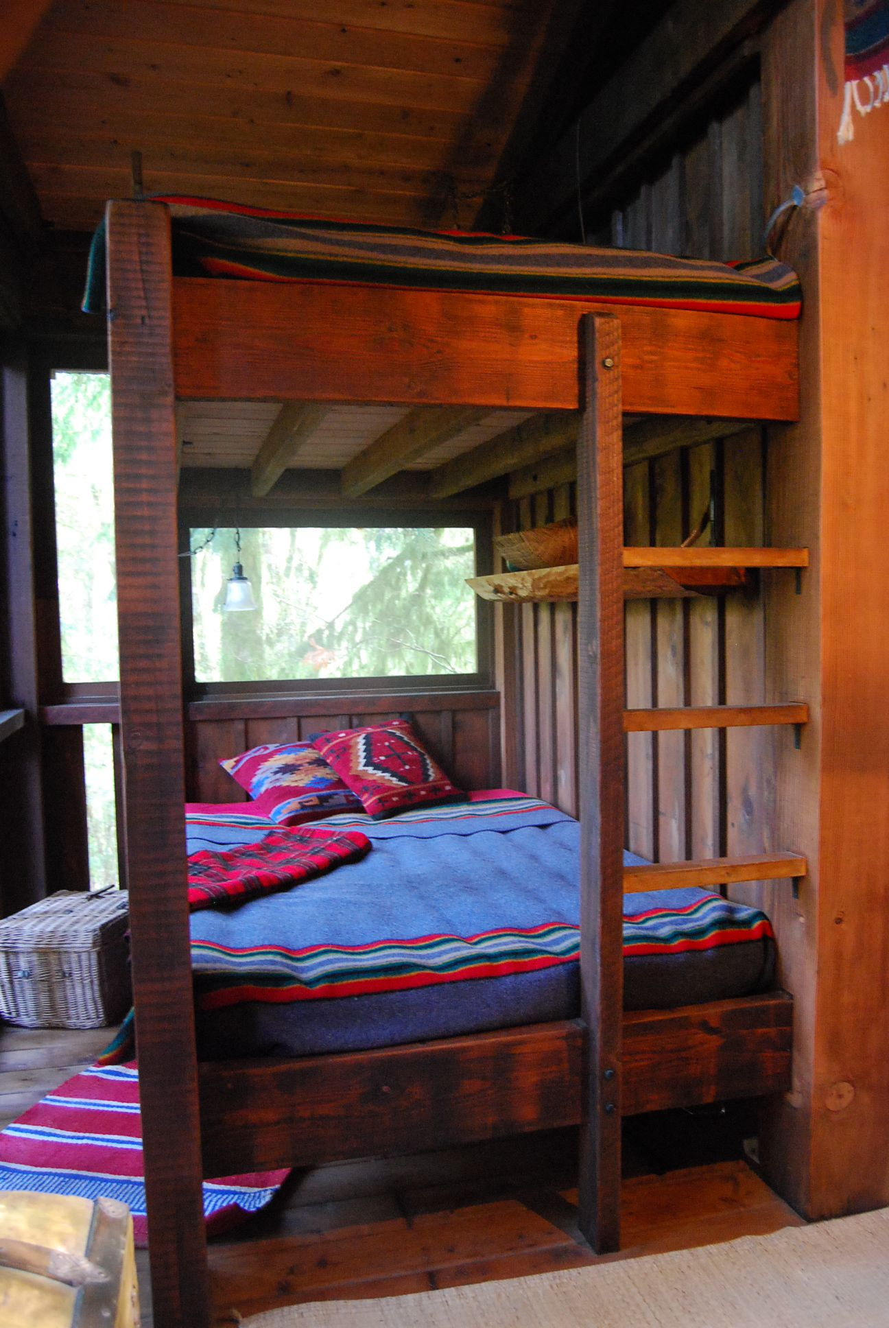 Rustic style bunk beds Rustic style, Home decor, Bunk beds