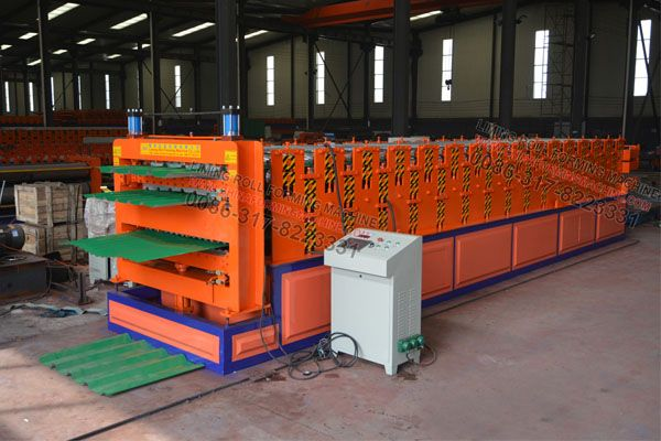 Pin On Triple Layer Colored Steel Sheet Forming Machine With Ce Certification