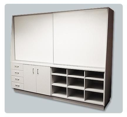 The Sliding Whiteboard Unit Can Be Made To Suit Your Requirements