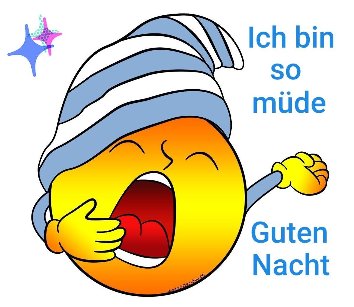 Pin von Dorota Suchan auf gute Nacht | Lustige emoticons