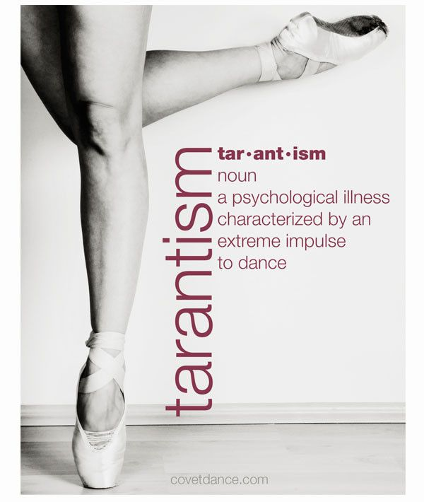 Do you have tarantism? Hang this sticky-back fabric poster if you have an extreme impulse to dance. It's removable and re-hangable. The special adhesive lets you move it hundreds of times with no thum