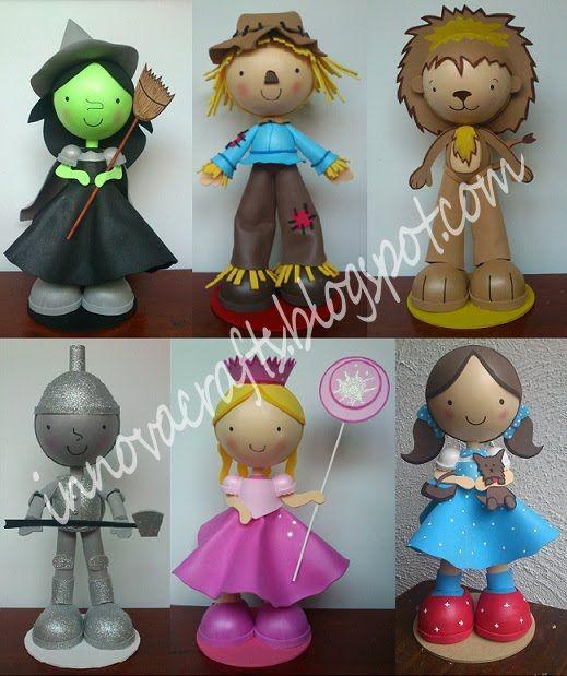 Fofuchas Wizard of Oz