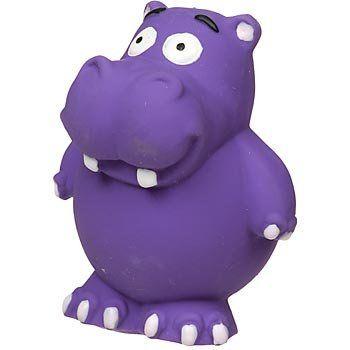 3 67 5 98 Hartz Round About Flexa Foam Hippo Dog Toyhartz Round