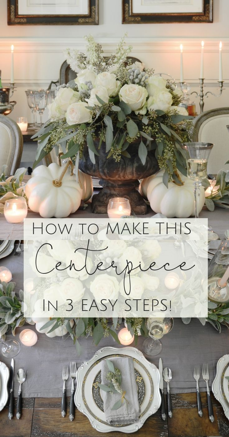 Photo of How to Make This Fall Centerpiece in 3 Easy Steps