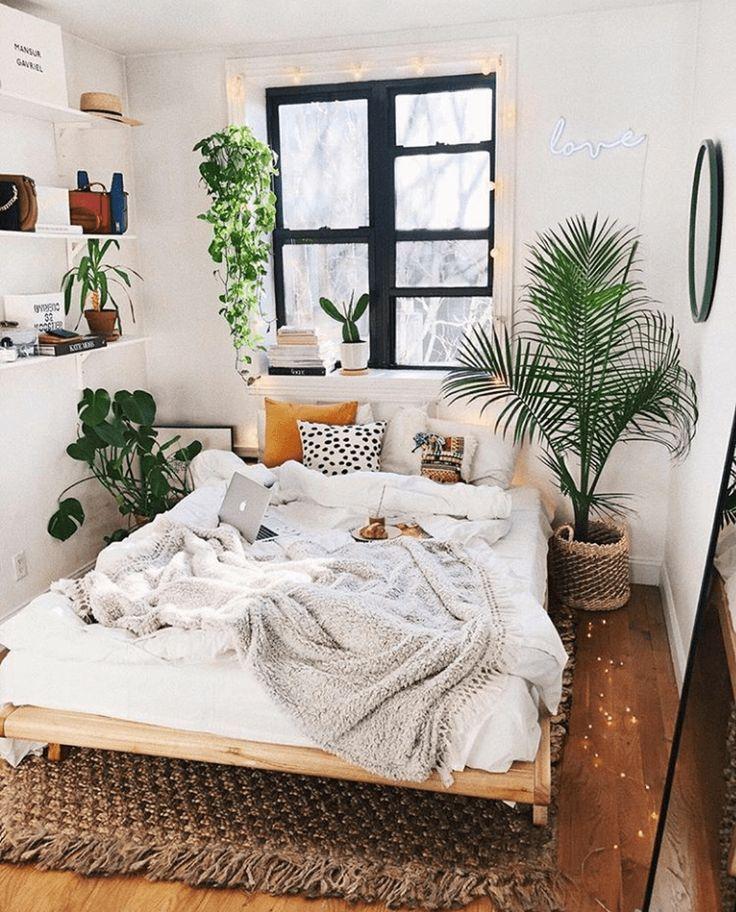 Bedroom Design Ideas With Plants Bedroom Decor For Couples Bedroom Decor For Couples Small Small Bedroom Decor Cute bedroom ideas plants