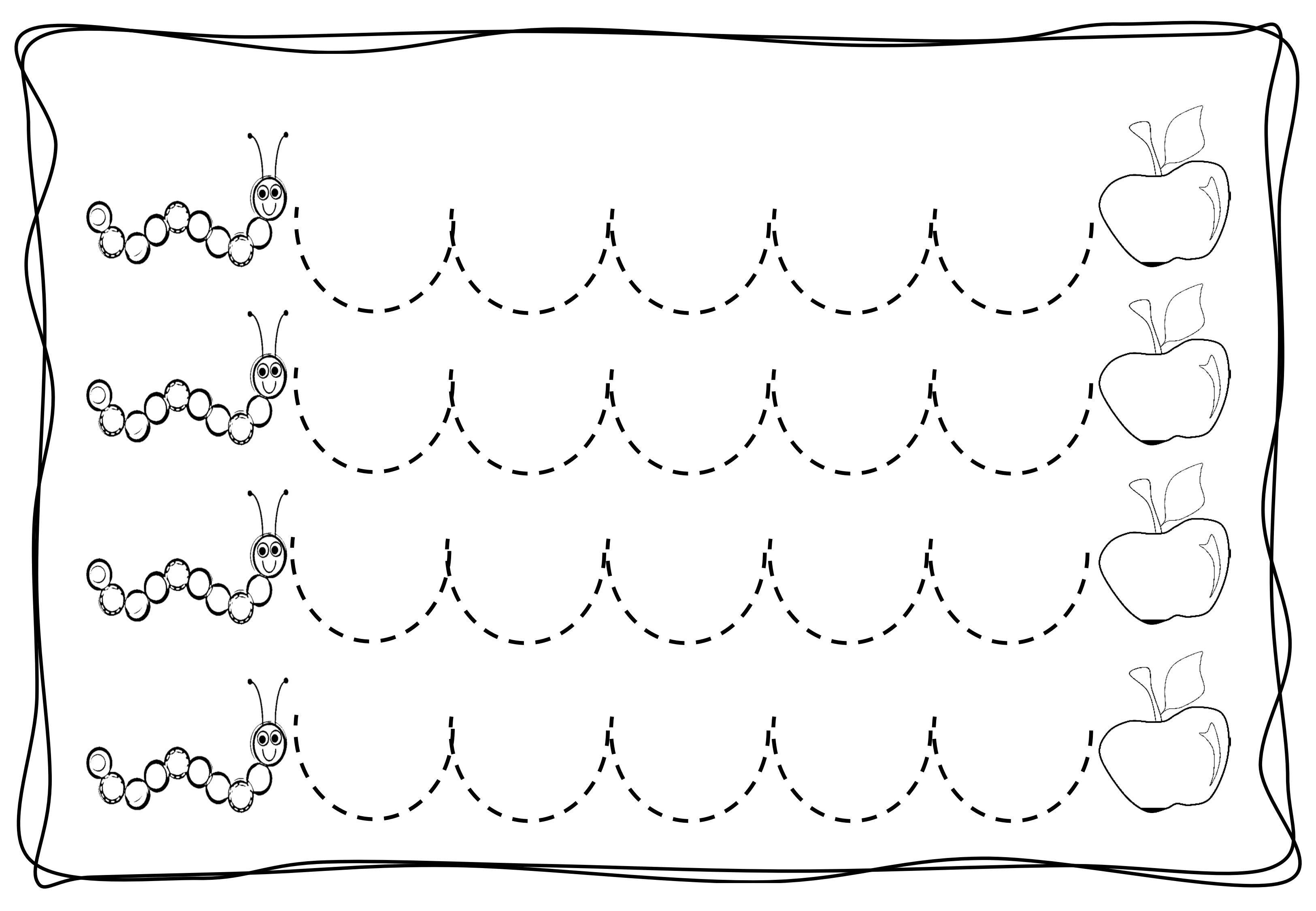 pre-writing-zig-zag-worksheets-3.jpg (3250×2250) | cursive line ...