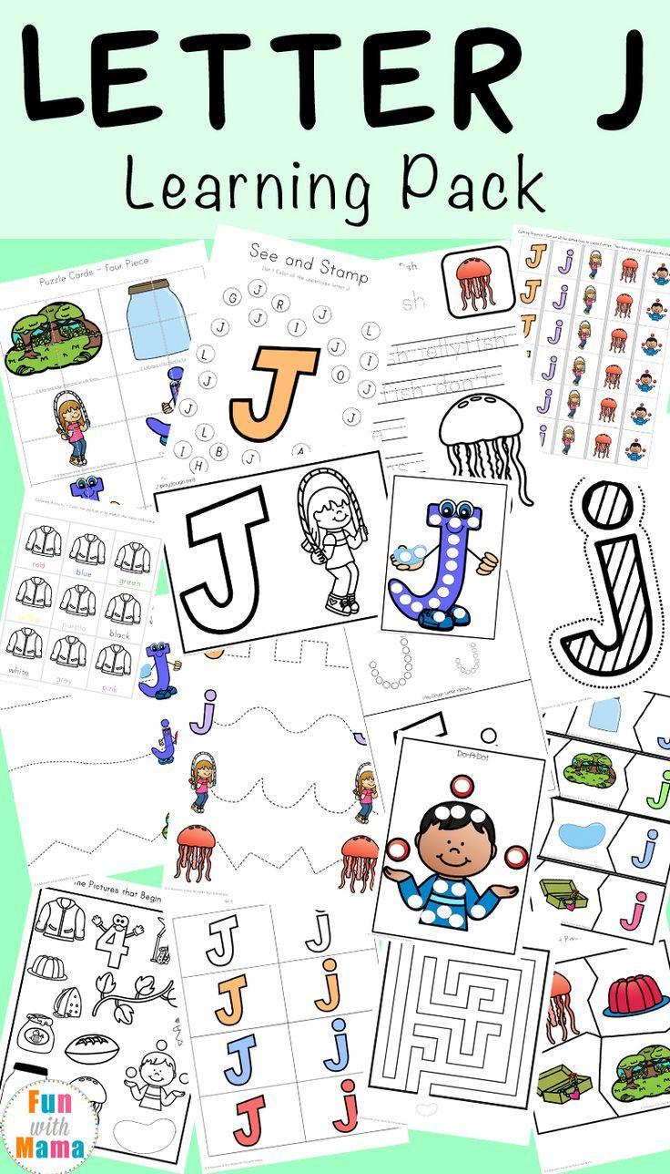 Letter J Worksheets Activities Letter J Activities Letter J Crafts Alphabet Letter Crafts