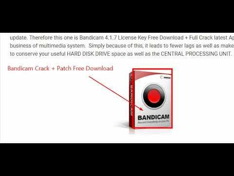 bandicam full español 2018 crack