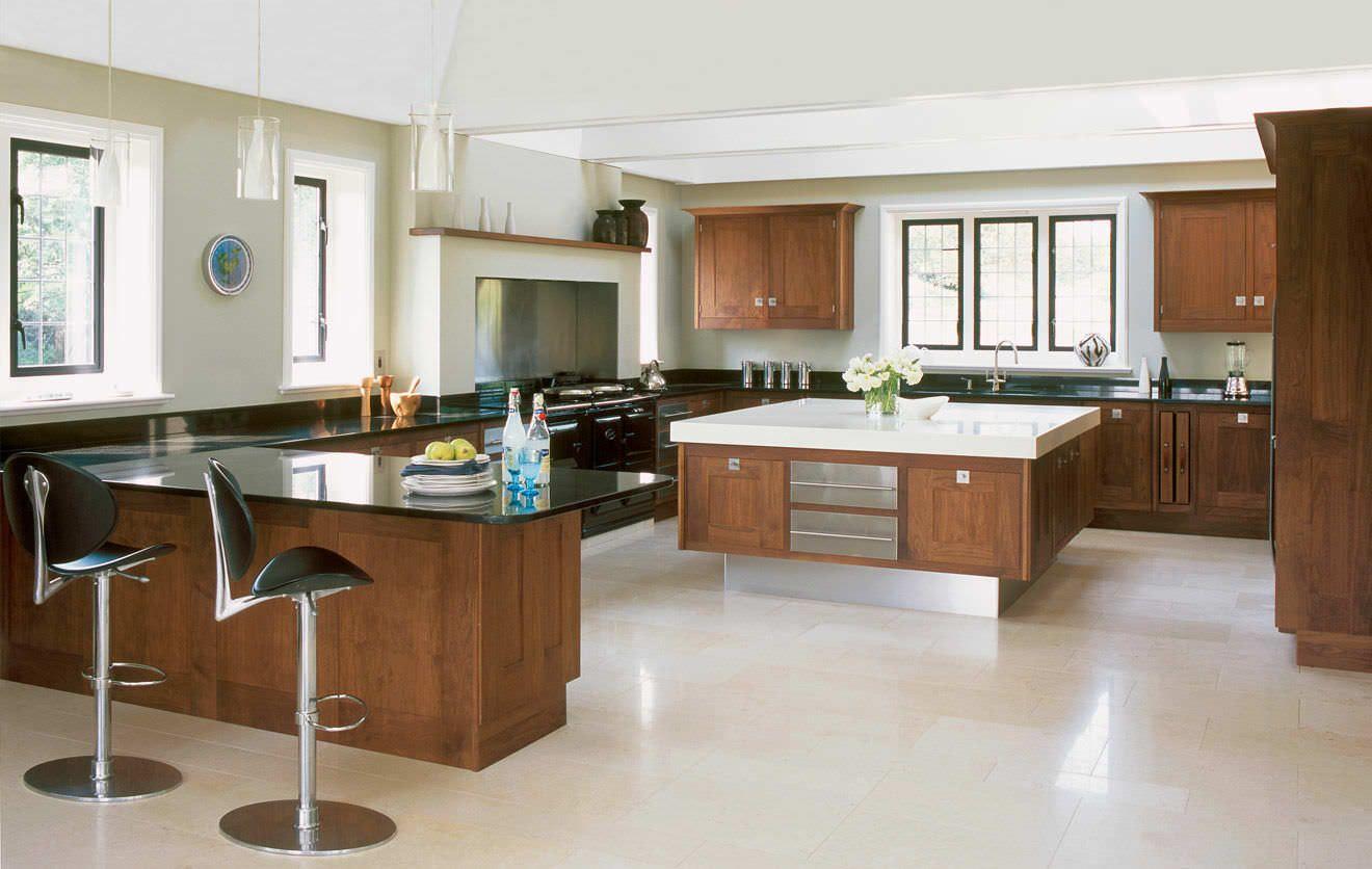 Cocina moderna en madera awesome interiors pinterest - Cocina de madera moderna ...