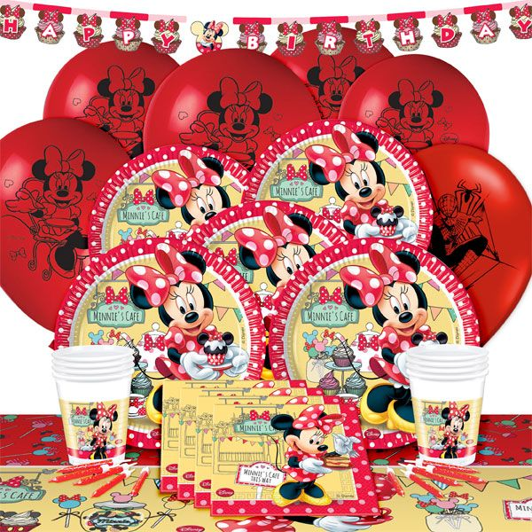 Create Your Very Own Minnie Mouse Party | Party Delights Blog  sc 1 st  Pinterest & Create Your Very Own Minnie Mouse Party | Cafes Minnie mouse party ...