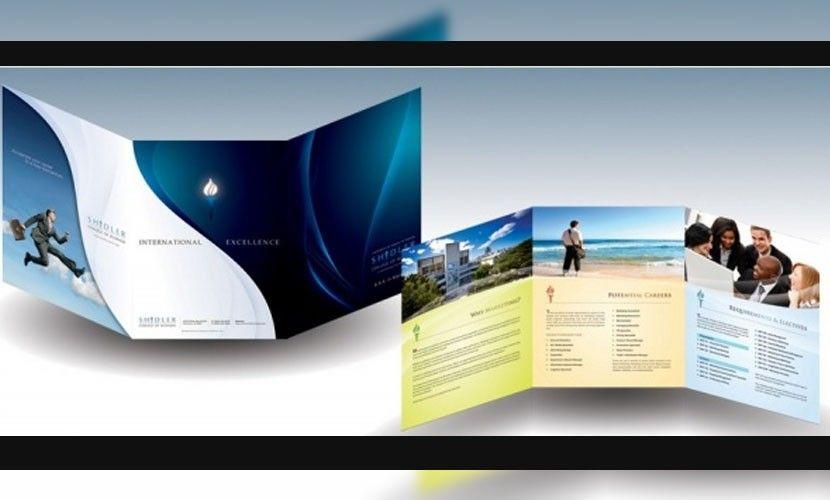 Trípticos online, 30 plantillas de folletos GRATIS para Photoshop