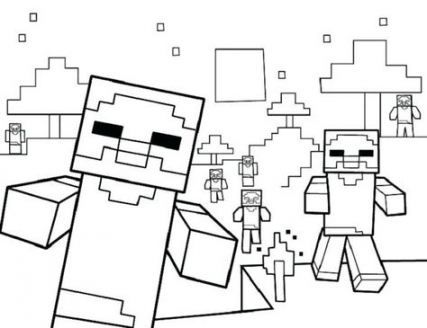 minecraft birthday party games coloring pages 33 trendy ideas  minecraft coloring pages