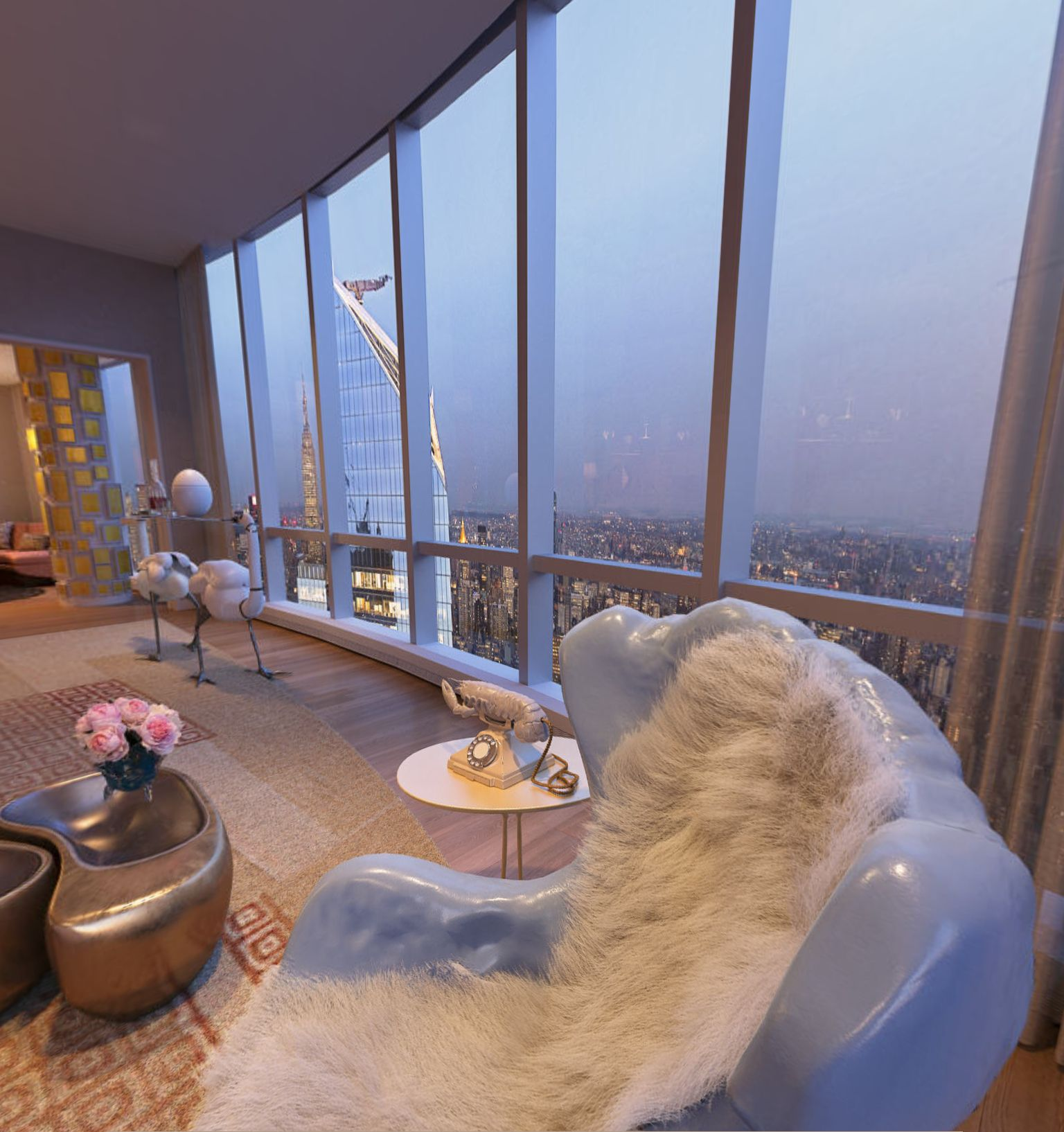 15 Hudson Yard Penthouse 83a Virtual Tour Generated By Panotour In 2020 Hudson Yards Tours Pent House