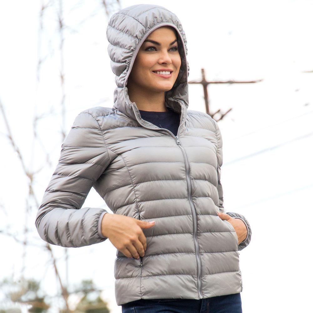 Alpine Swiss Womens Hooded Down Jacket Puffer Bubble Coat Packable Light Parka 29 99 Fashion Style Beauty Men Fashionshow Fas Vintage Jacket Jackets Outerwear Women [ 1000 x 1000 Pixel ]