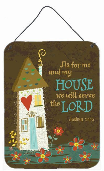 As For Me And My House Wall or Door Hanging Prints VHA3005DS1216