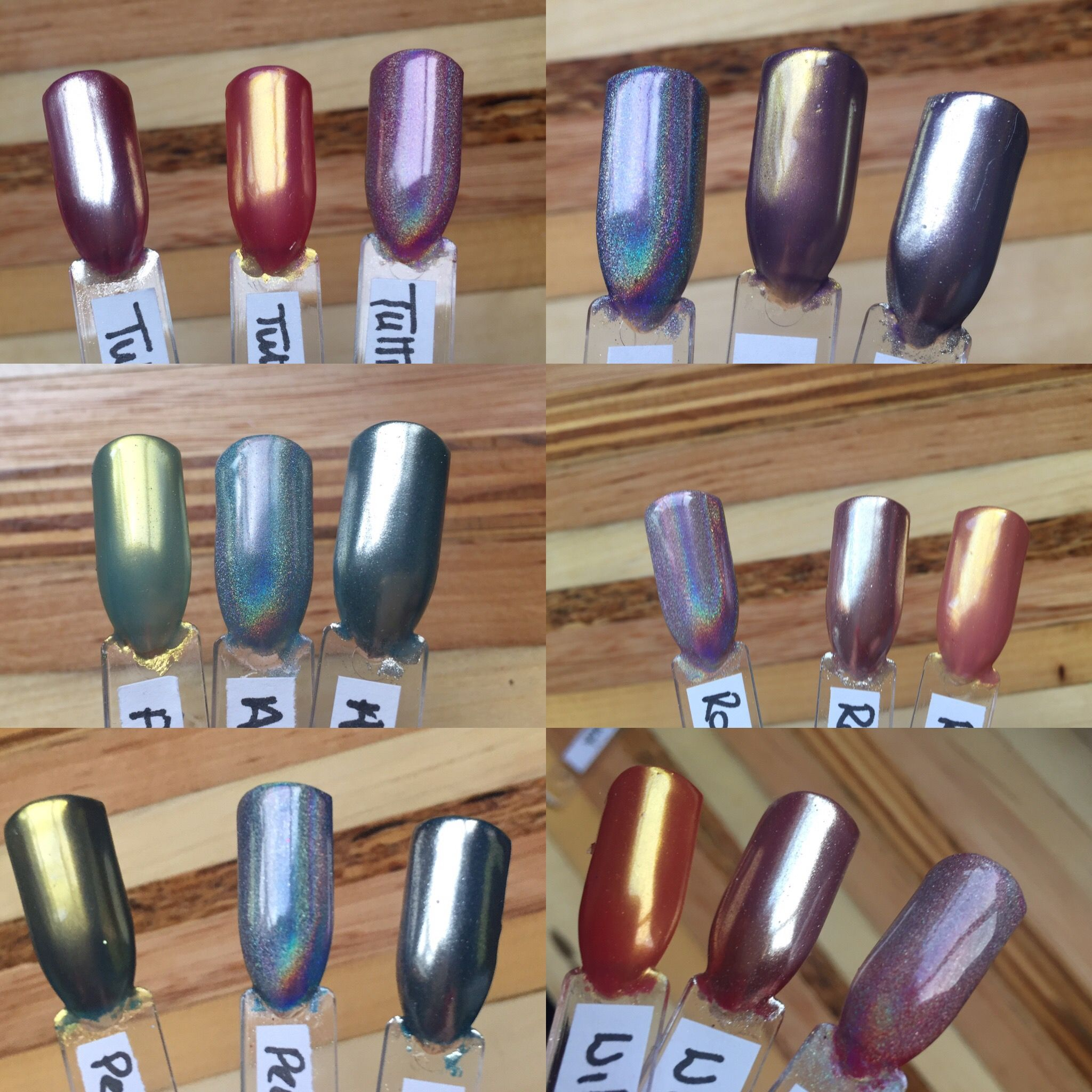 Cnd Shellac Chrome Nails At True Colour By Amanda Jones Chrome Nails Shellac Nails Shellac Nails Summer